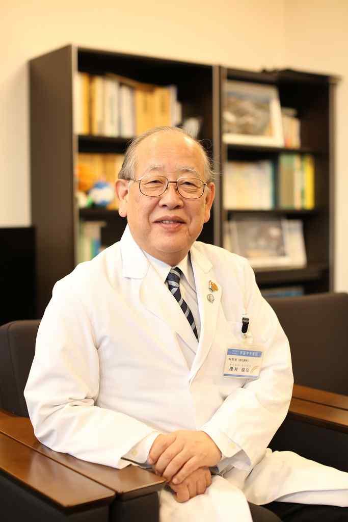 地方独立行政法人理事長・病院長 櫻井 俊弘の写真