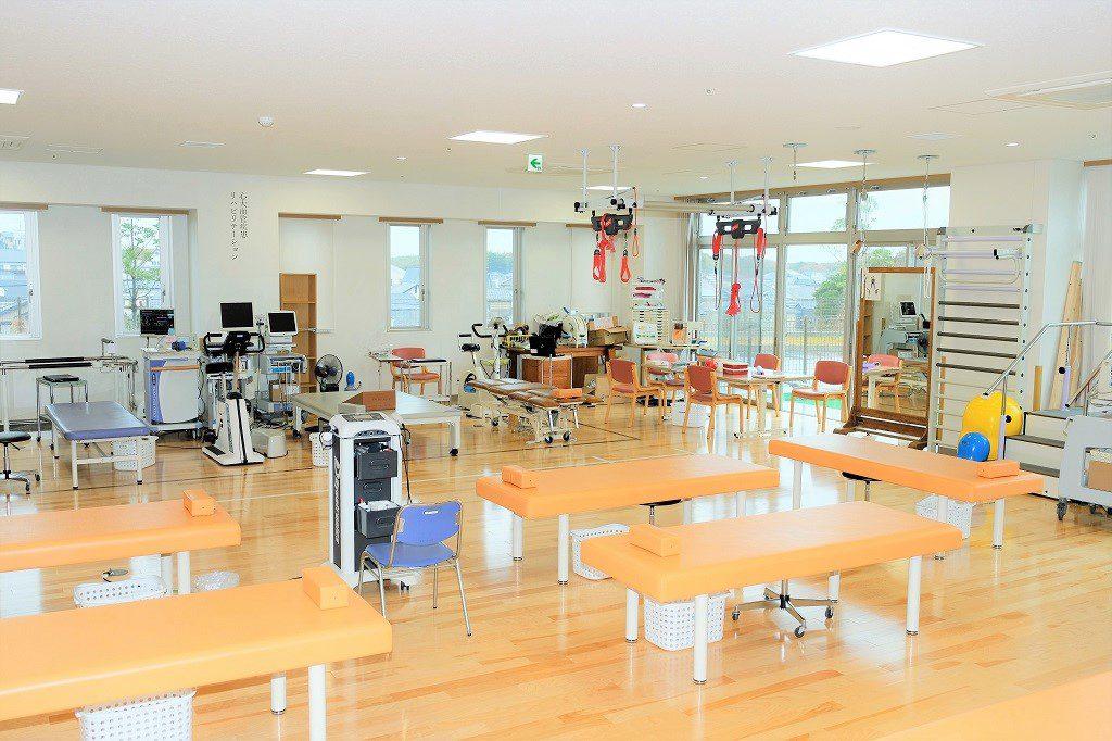 リハビリ訓練室の写真