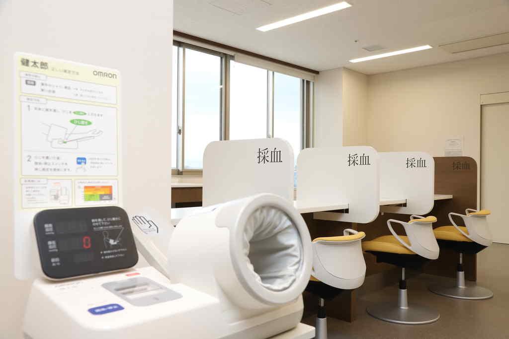 血圧測定器の写真